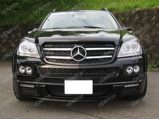 Mercedes - Benz - GL450 - LED - daytime - running - lights - 1